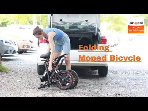 Niubility B14 Folding Moped Bicycle 丨25km/h Top Speed丨 Electric Bike Ebike - Banggood.com