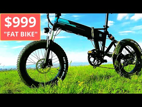 """The Best Electric Folding """"Fat Bike"""" for less than $1000: Fiido M1?"""
