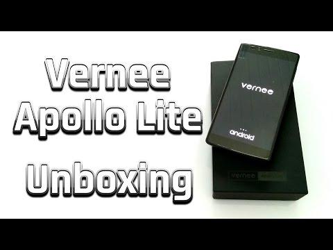 Vernee Apollo Lite - Smartphone Unboxing