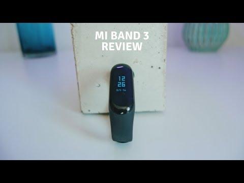 XIAOMI Mi Band 3. Mein Kurz-Review zum Fitness Tracker (deutsch)