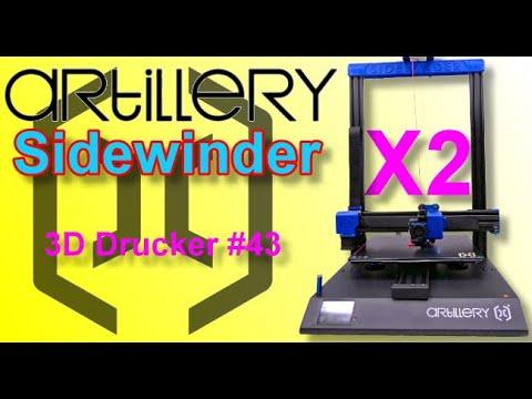 ARTILLERY SIDEWINDER -X2- Der schöne Schöndrucker!