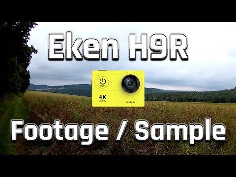 Eken H9 / H9R   4K Footage / Aufnahme Sample