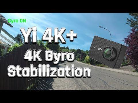Yi 4K+ (Plus) Review | 4K Stabilization vs. No Stabilization | Sample Footage / Testaufnahme