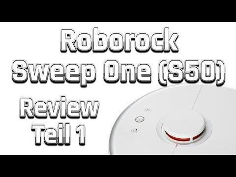 (Xiaomi) Roborock S50 / Sweep One Saugroboter | Test / Review - Teil 1 | (Deutsch / German)