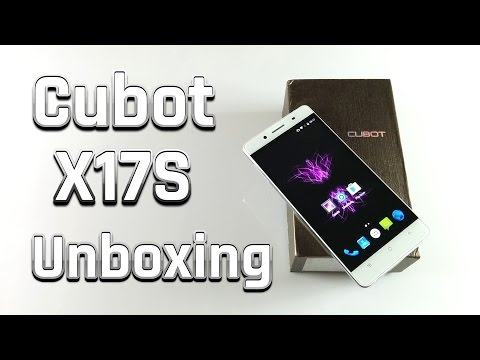 Cubot X17S Unboxing (Testbericht Teil 1) [Deutsch / German]
