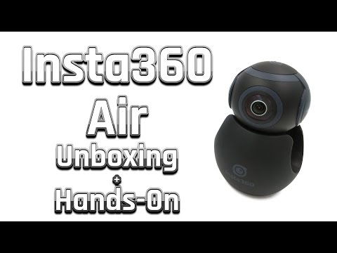 Insta360 Air Review | Unboxing & Hands-On