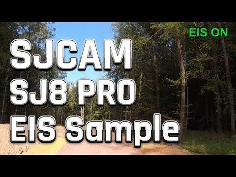 SJCAM SJ8 Pro Review | EIS Sample Footage / Testaufnahme