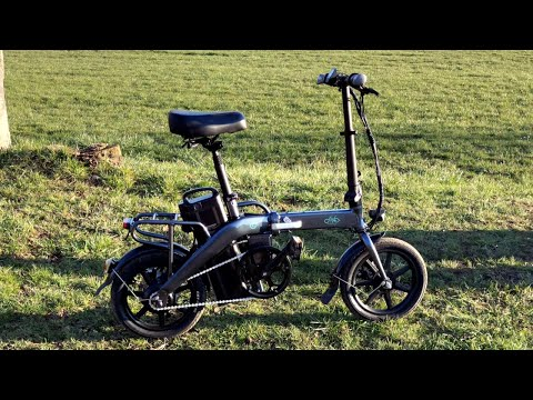 FIIDO L3 E-Bike Impression Unfolding & Folding