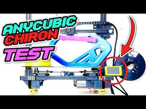 RIESIGER 3D Drucker - ANYCUBIC Chiron TEST [DEUTSCH / Review / Langzeittest]