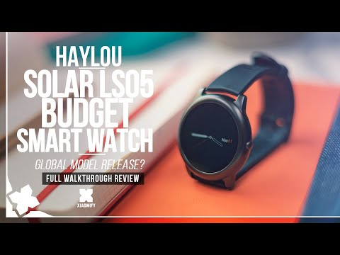 Haylou Solar LS05 Smart Watch - Full review [Xiaomify]