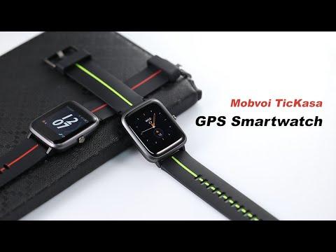 Mobvoi TicKasa Vibrant GPS Smartwatc Full Review & Test - Gearbest.com