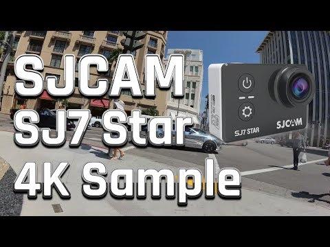 SJCAM SJ7 Star Review / Test | 4K@30 Sample Footage