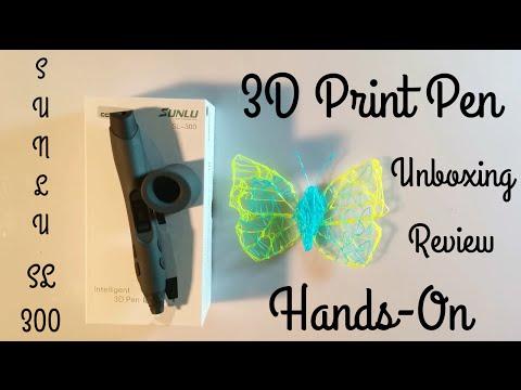 Sunlu SL-300 / SL-400 | 3D Printer Pen / Doodler im Test | Unboxing | Review | Hands-On