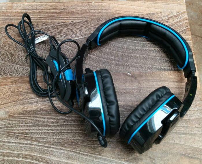 Sades SA-708 Headset Test Top