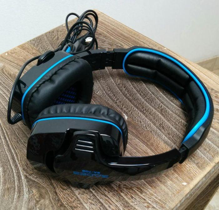Sades SA-708 Headset Test Page