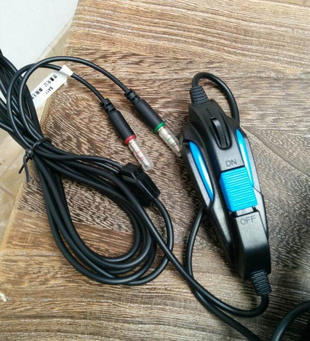 Sades SA-708 Headset Test Cable
