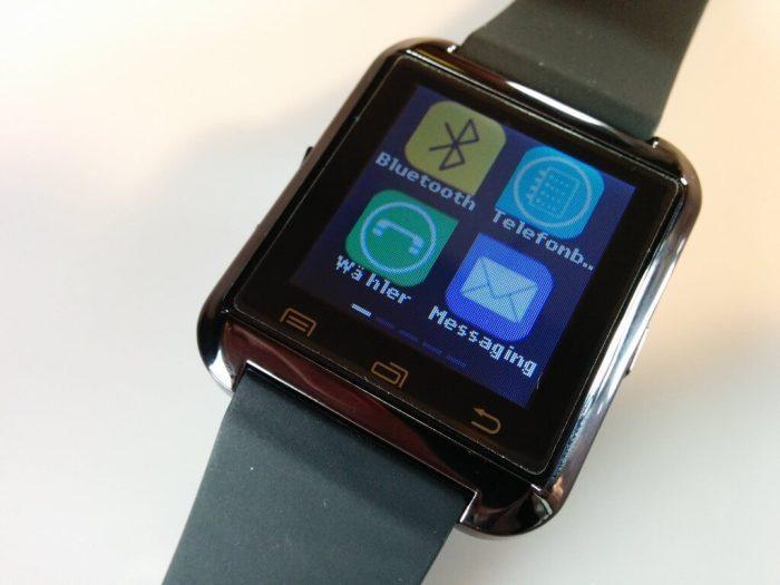 UWatch U8 Smartwatch Appdrawer