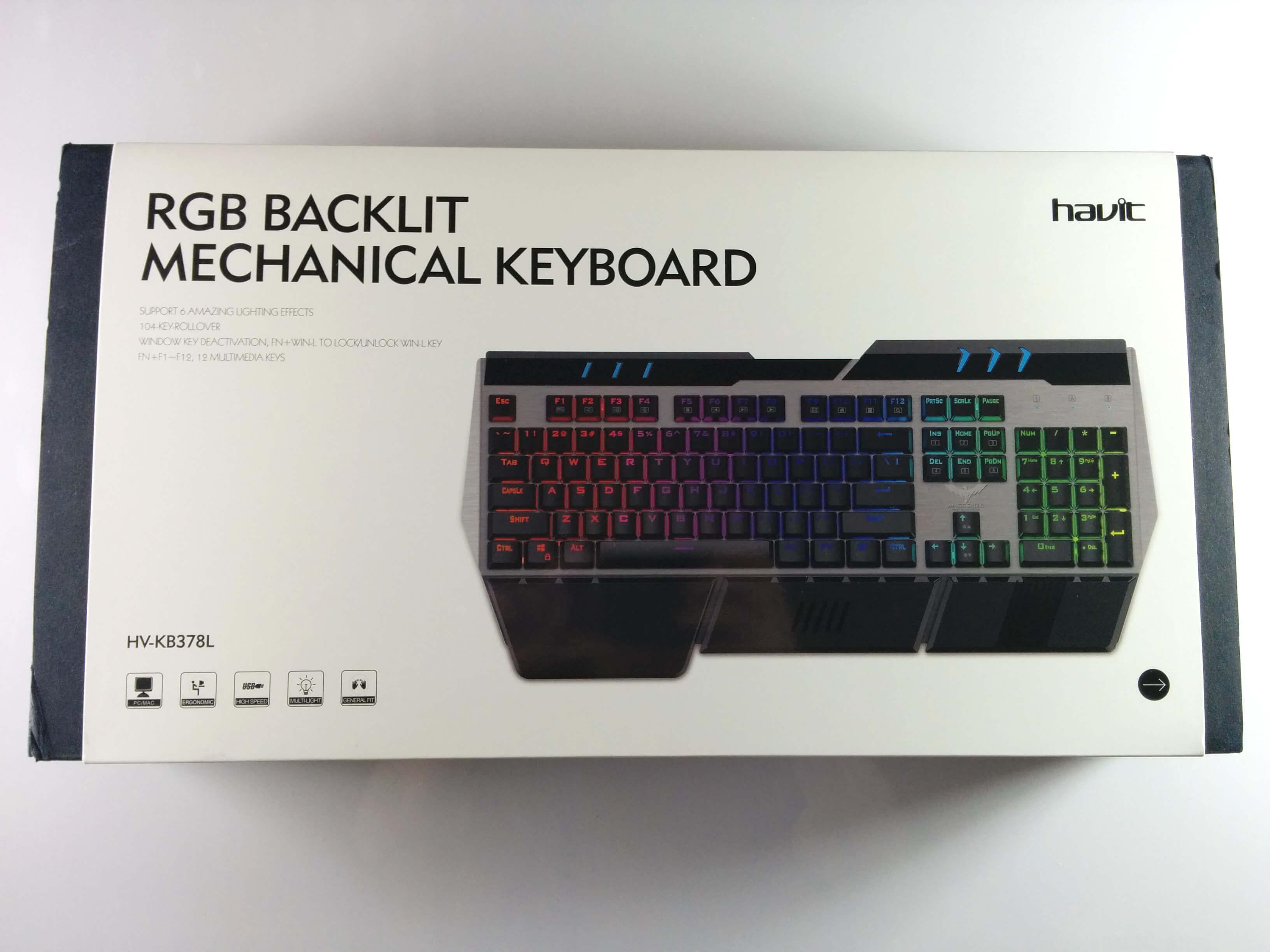 Havit mechanische Tastatur / Keyboard - Karton