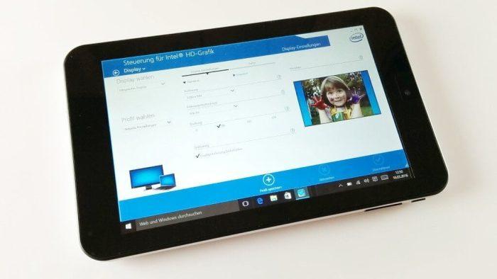 iRULU 7 WalknBook Zoll Display Intel Grafik