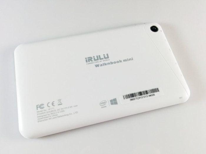 WalknBook 2Mini Rückseite