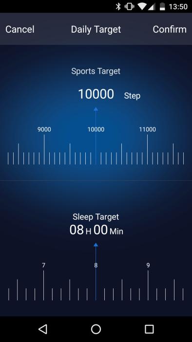 ELE-App Schrittzähler