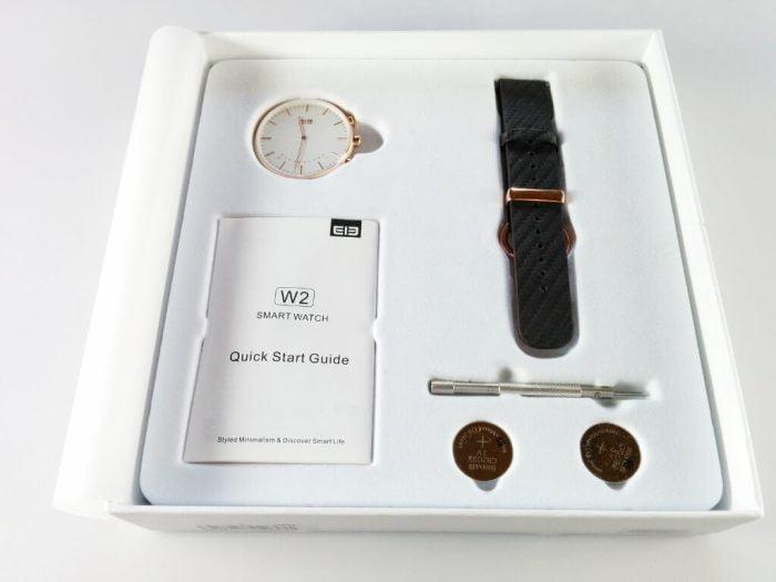 Elephone W2 Lieferumfang