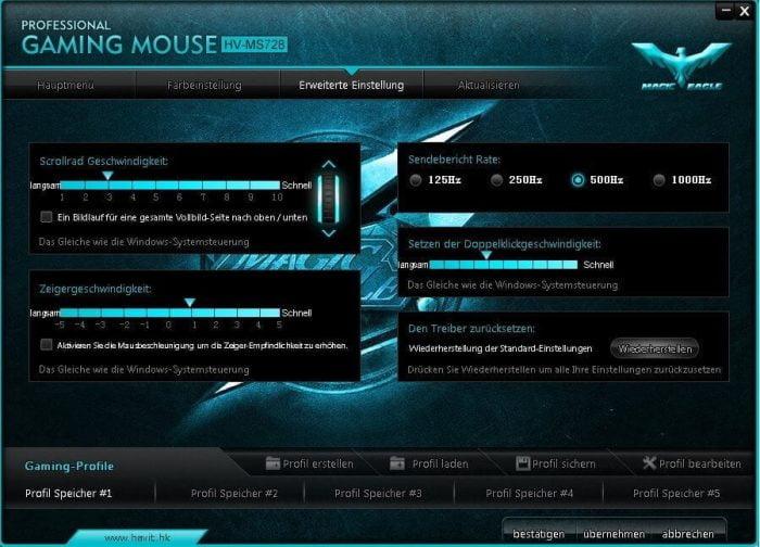 Havit Gaming Maus Software Treiber Einstellungen