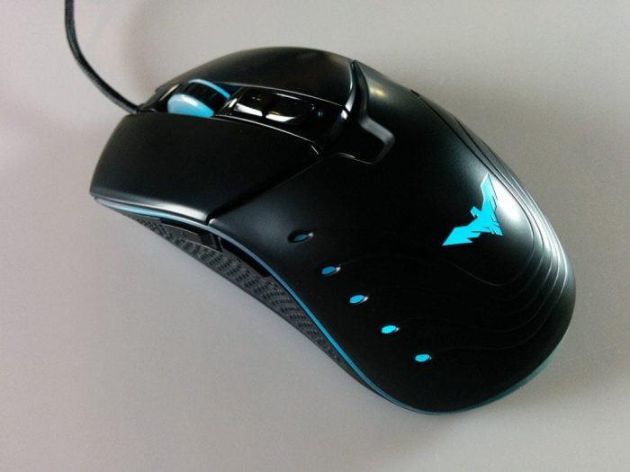 Havit Gaming Maus LED Farbwechsel Türkis