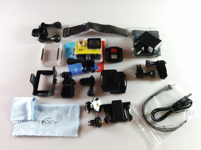 Eken H9R scope of delivery
