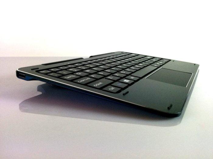 Seitenansicht Tastatur CDK09