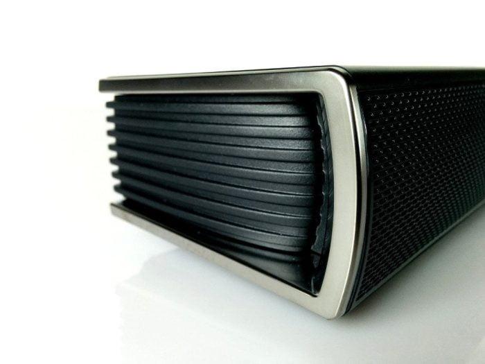 LG Soundbar Gehäuseseite