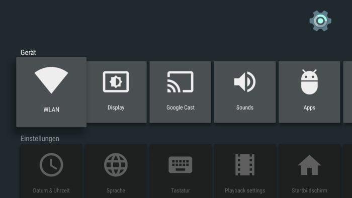 Android TV Einstellungen (1)