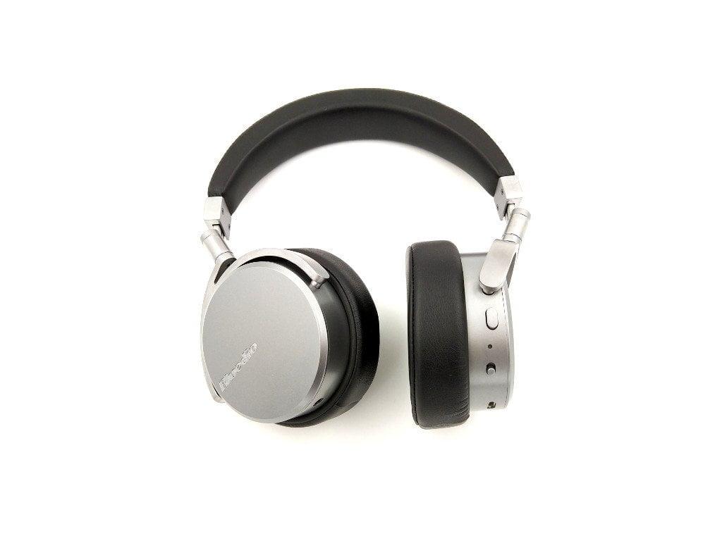 Teste de fones de ouvido de vinil Bluedio