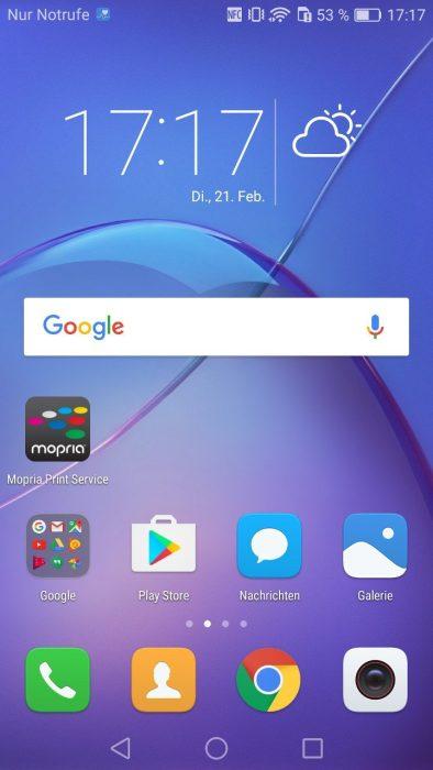 EMUI Android Benutzeroberfläche (2)