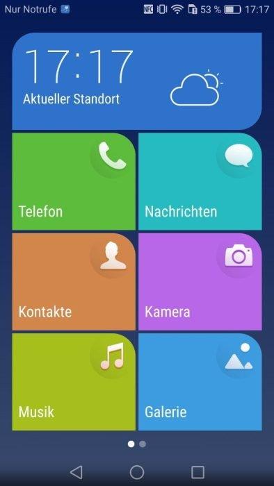 EMUI Android Benutzeroberfläche (1)