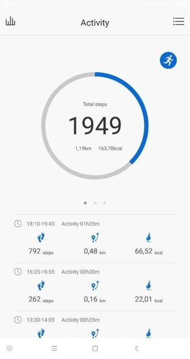 Lenovo App Schrittzähler (1)