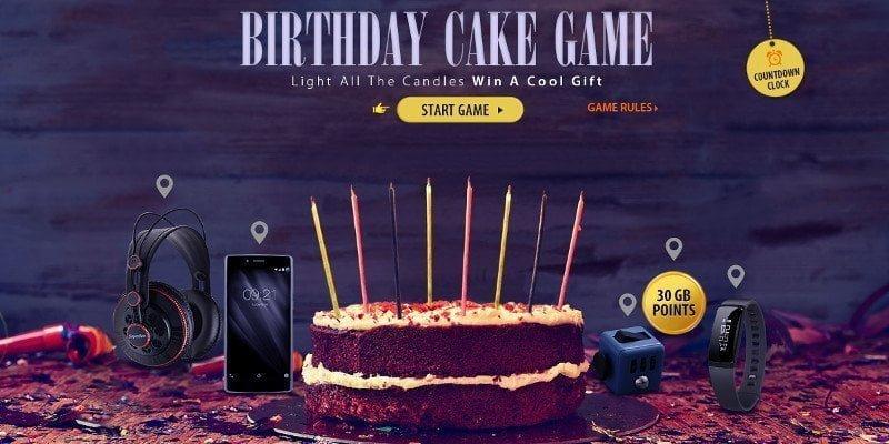 GearBest Cake Game Gewinnspiel