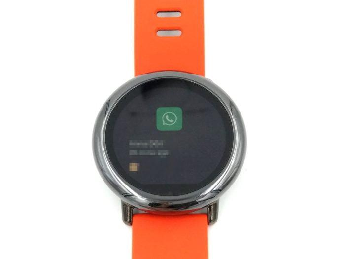 Gebruikersinterface WhatsApp