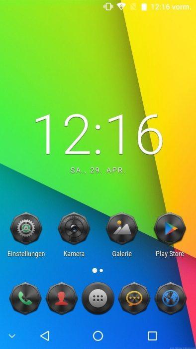 Android 7 Startbildschirm