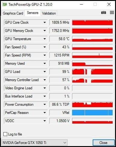 GPU-Z Burst