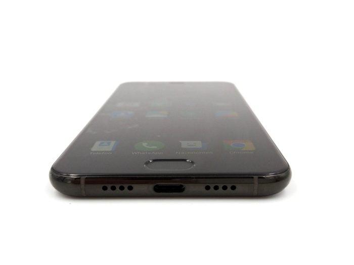Xiaomi Mi6 Test Unterseite mit USB-C