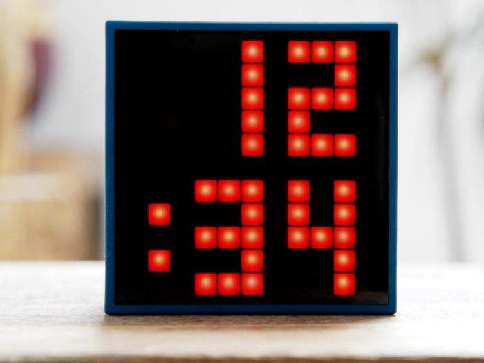 Timebox PixelArt Uhrzeit