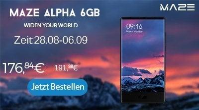 GearBest Maze Alpha Promo