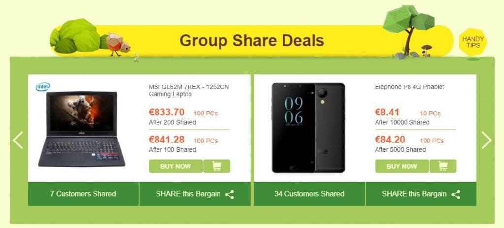 GearBest Herbst Sale Gruppen Deals
