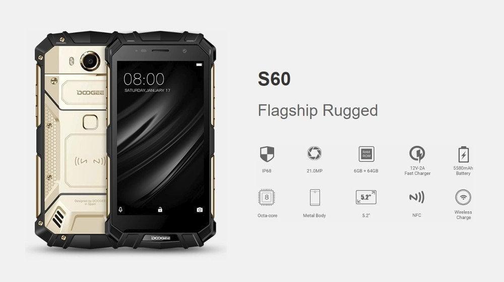 DOOGEE S60 Technische Daten