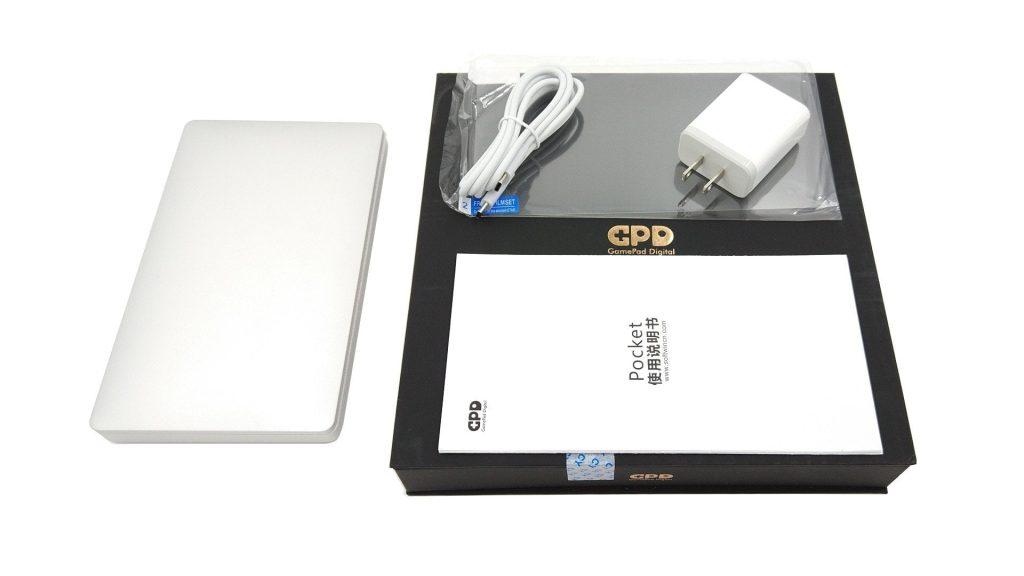 GPD Pocket включен
