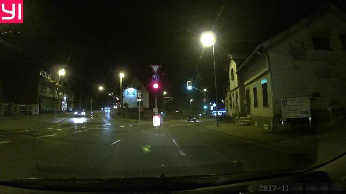 Testaufnahme bei Nacht