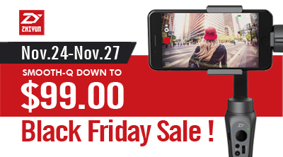 Zhiyun Black Friday 2017