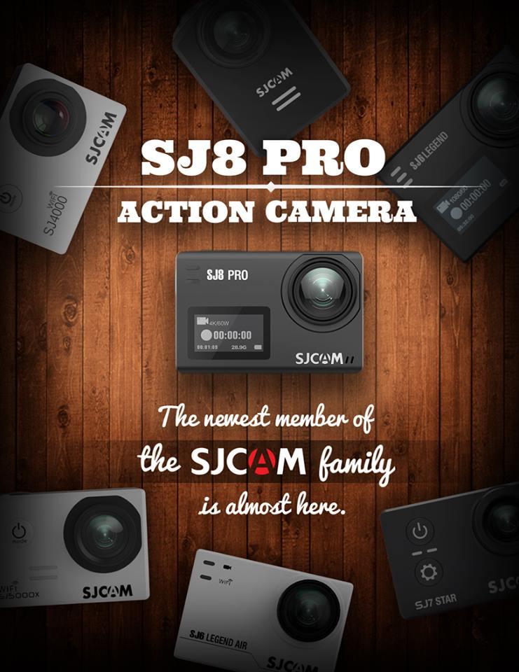 SJCAM SJ8 Release Teaser