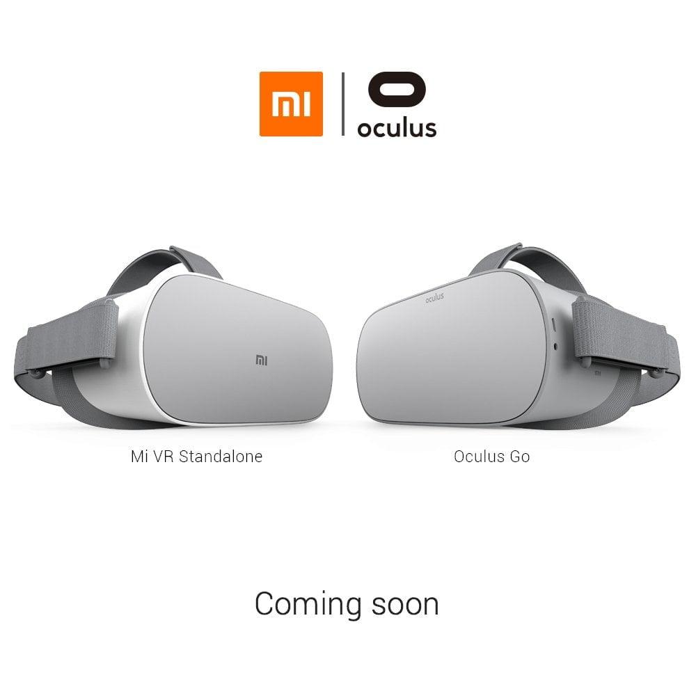 Xiaomi Mi VR Standalone und Oculus Go VR Brille